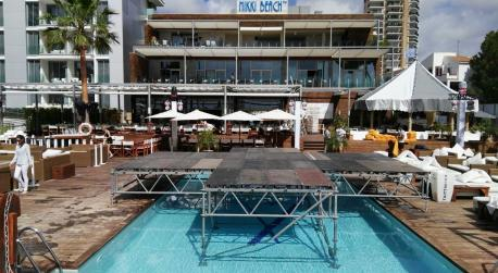 "The Nikki Beach Mallorca opens its summer season with its ""White Party""."