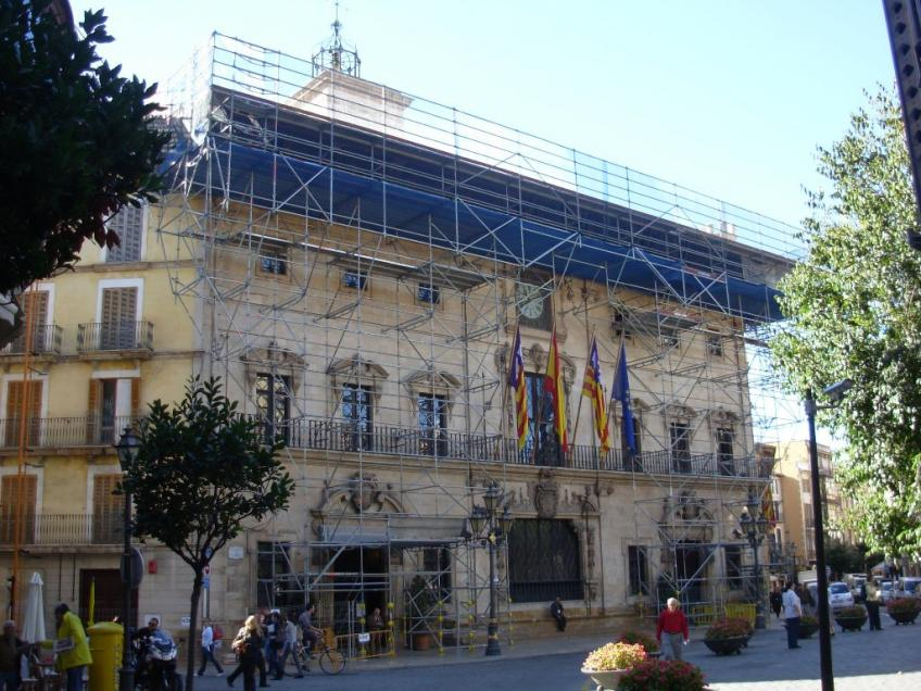 Restoration of the facade of the City Hall of Palma